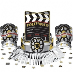 Hollywood Fringe Table Decorating Kit | Party Supplies
