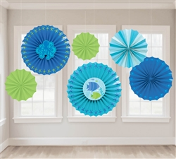 Summer Sea Fan Decorations | Party Supplies