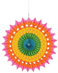 Hanging Fan Decoration | Party Supplies