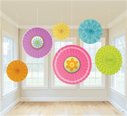 Spring Fan Decorations | Party Supplies