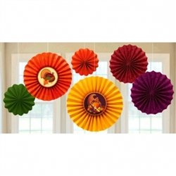 Thanksgiving Fan Decorations | Party Supplies