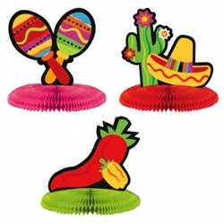 Fiesta Mini Centerpiece Assortment | Party Supplies