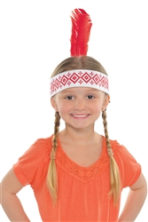 Headband w/Feather | Party Supplies