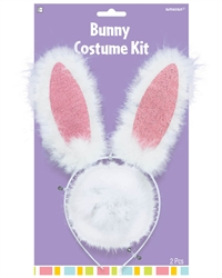 Bunny Ears and Tail Kit | Party Supplies