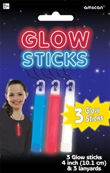Patriotic Light Stick Necklaces | Party Supplies