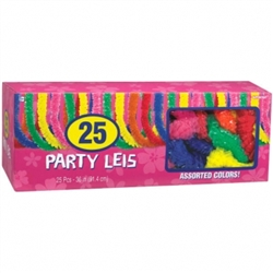 Box of Assorted Poly Leis | party supplies