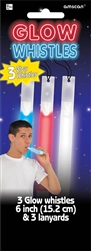 Patriotic Glow Stick Whistle | Party Supplies