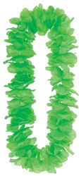 Neon Green Paradise Leis | Party Supplies