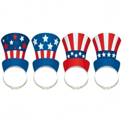 Patriotic Hat Headbands | Party Supplies