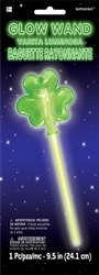 Shamrock Glow Wand | Party Supplies