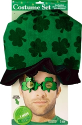 St. Patrick's Day costume Set w/Hat | St. Patrick's Day Costume
