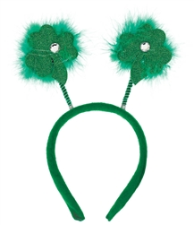 St. Patrick's Day Clover Head Bopper | St. Patrick's Day Clover Head Bopper