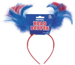 Patriotic Ponytail Head Bopper | Party Supplies