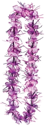 Purple Tinsel Leis | Party Supplies