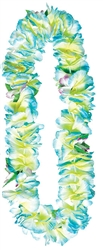 Blue Soft Petals Leis | Party Supplies