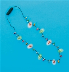 Christmas Light-Bulb Necklace | Party Supplies