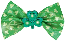 St. Patrick's Day Light-Up Bow Tie | St. Patrick's Day Bow Tie