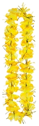 Yellow Tinsel Leis | Party Supplies