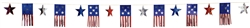 American Flag 3-D Foil Banner | Party Supplies