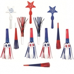 Patriotic Noismakers | Party Supplies
