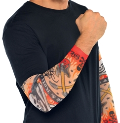Rock On Tattoo Sleeve | Party Supplies