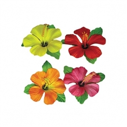 Tiki Island Table Clips | Luau Party Supplies