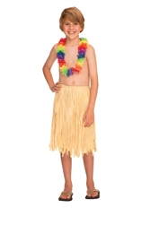 Natural Grass Skirt - Child | Party Supplies