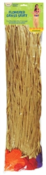 Grass Skirt with Flowers - Adult | Party Supplies