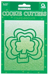 Shamrock Cookie Cutters | St. Patrick's Day Shamrock Cookie Cutters