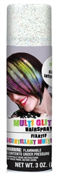 Multicolor Glitter Hair Spray