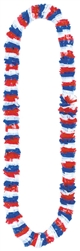 Red/White/Blue Lei | party leis