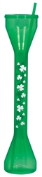 St. Patrick's Half Yard Drinking Glass | St. Patrick's Day Drinking Glass