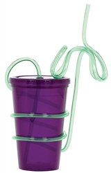 To Go Cxup with Palm Tree Straw | To Go Cup