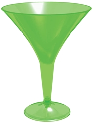 Green 8 oz. Martini Glasses | Martini Glasses