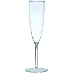 Clear Premium Quality Boxed Champagne Flutes | Party Supplies