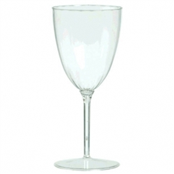 Clear Premium Quality Boxed Wine Goblets | Party Supplies