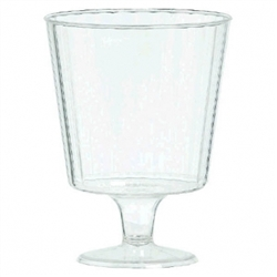 Clear Premium Quality Boxed Wine Glasses | Party Supplies