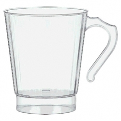 Clear Premium Quality Boxed Coffee Cups | Party Supplies