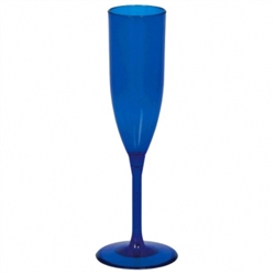 Blue Champagne Glass | Party Supplies
