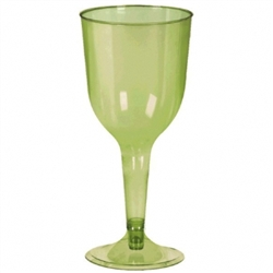Avocado 10 oz Wine Glass | Party Supplies