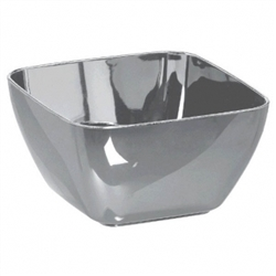 Mini Bowls - Silver | Party Supplies