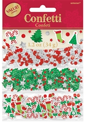 Christmas Value Confetti | Party Supplies