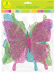 Glitter Butterflies | Party Supplies