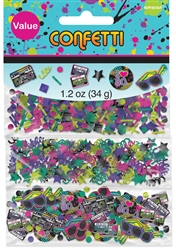 Totally 80's Value Pack Confetti | Party Supplies