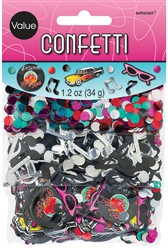 Classic 50's Value Pack Confetti | Party Supplies