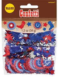 Bandana & Blue Jeans Value Confetti | Party Supplies