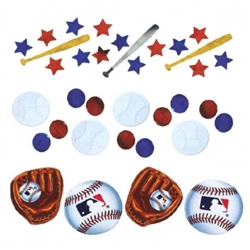 MLB Confetti Value Pack | Party Supplies