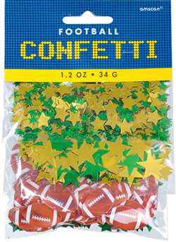 Football Confetti Value Pack | Football Party Suppiles