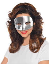 Silver Standard Mask | Party Supplies
