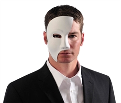 White Phantom Mask | Halloween Party Supplies